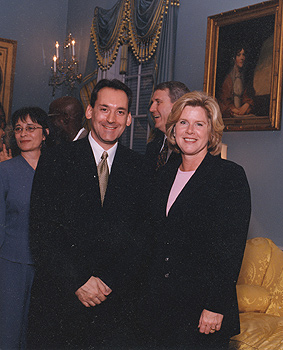 with Tipper Gore and Colette