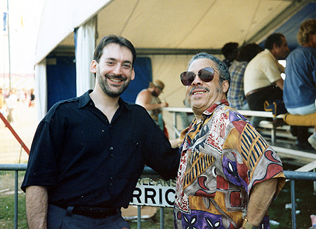 with Johnny Griffin